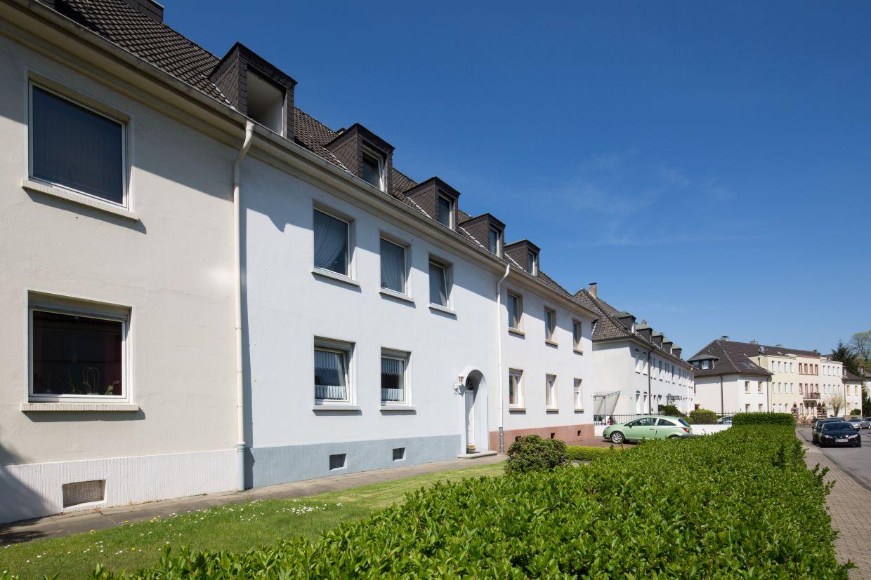 InnovationCity roll out-Quartier Gelsenkirchen Rotthausen-West Bebauung