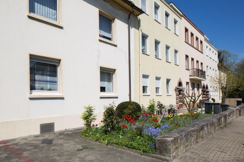 InnovationCity roll out-Quartier Gelsenkirchen Rotthausen-West Mehrfamilienhäuser