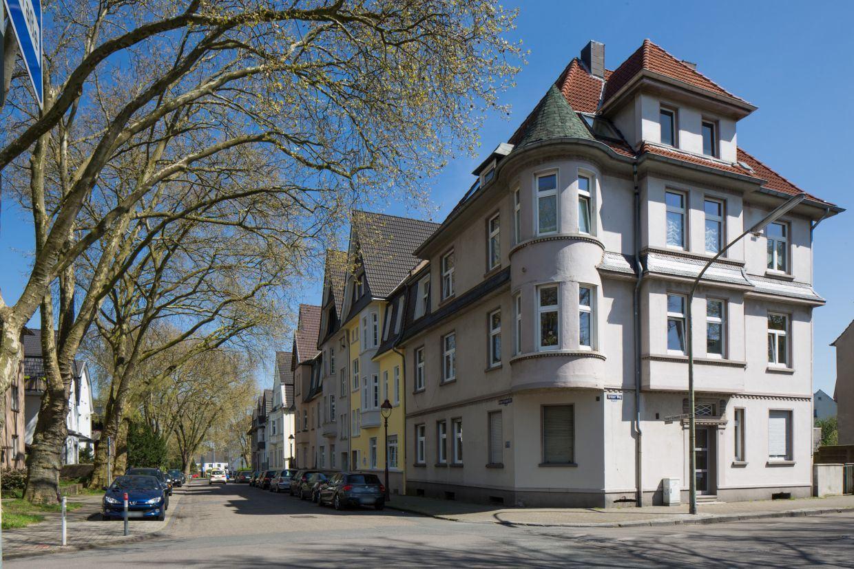 InnovationCity roll out-Quartier Gelsenkirchen Rotthausen-West Altbauten