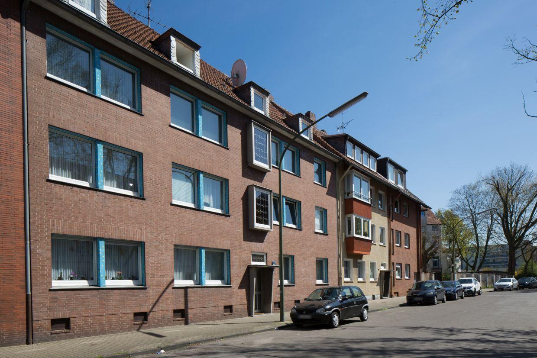 InnovationCity roll out-Quartier Gelsenkirchen Rotthausen-West Häuser