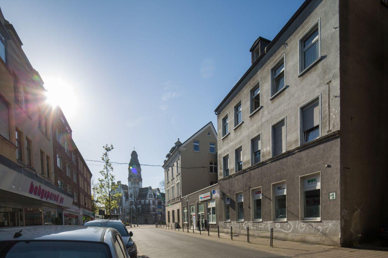 InnovationCity roll out-Quartier Gladbeck: Stadtmitte Straßenzug