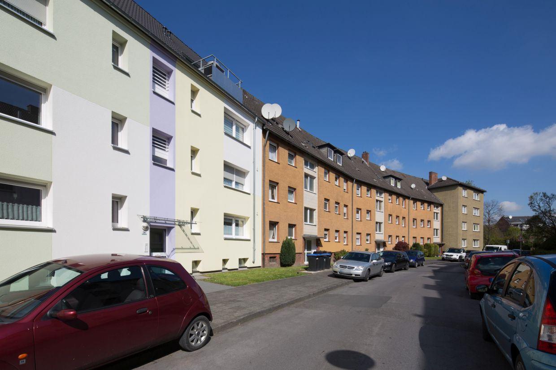 InnovationCity roll out-Quartier Hamm-Weststadt Mehrfamilienhäuser