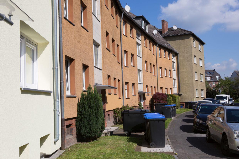 InnovationCity roll out-Quartier Hamm-Weststadt Häuser