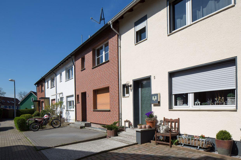 InnovationCity roll out-Quartier Herten: Langenbochum/Paschenberg Reihenhäuser