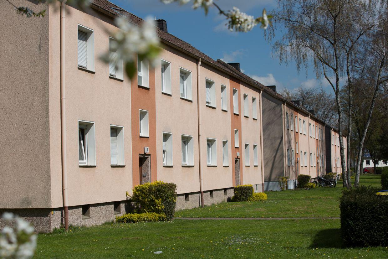 InnovationCity roll out-Quartier Lünen-Süd Mehrfamilienhäuser