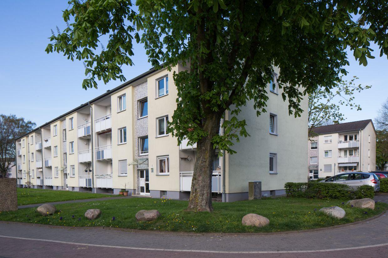 InnovationCity roll out-Quartier Mülheim an der Ruhr: Dümpten Zeilenbebauung