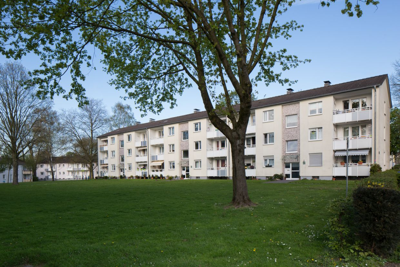 InnovationCity roll out-Quartier Mülheim an der Ruhr: Dümpten Mehrfamilienhaus