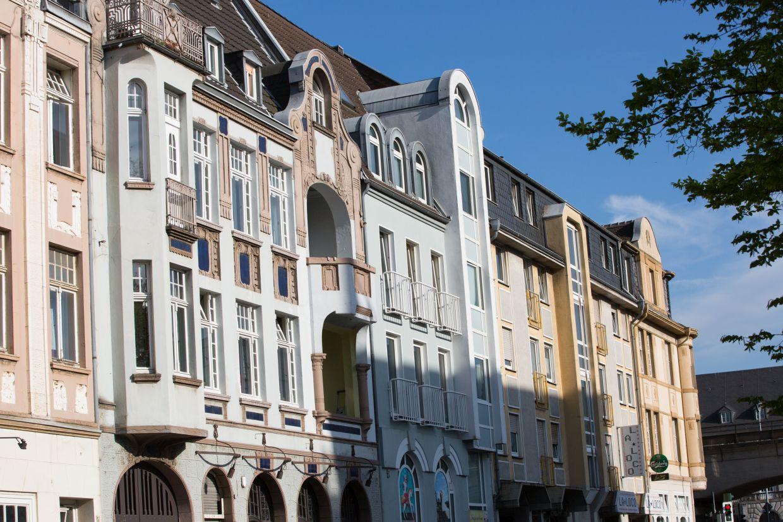 Quartiere im InnovationCity roll out: Mülheim an der Ruhr: Innenstadt